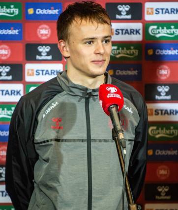 Profilbild: Mikkel Damsgaard