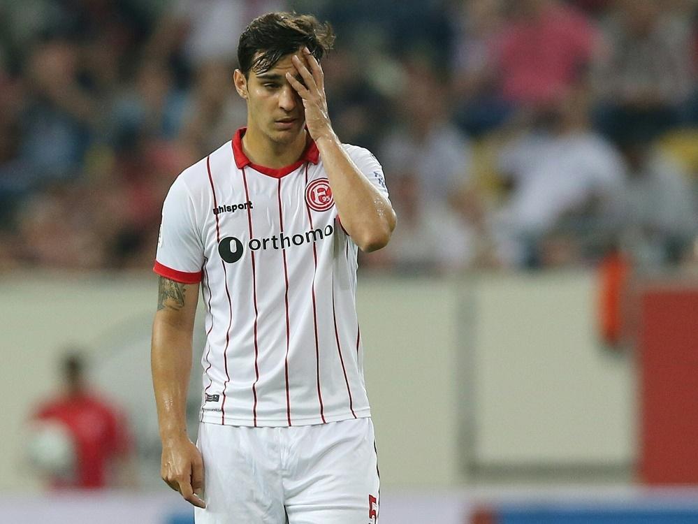 Düsseldorf verliert 0:2 gegen den Club