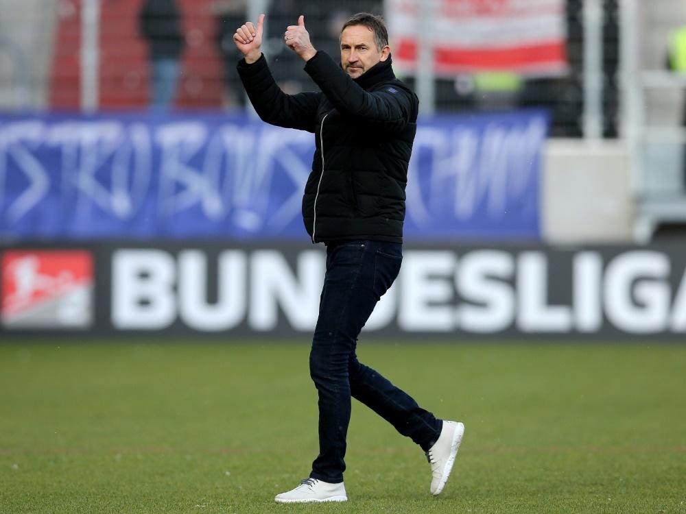 Beierlorzer und Regensburg schieben sich auf Platz sechs