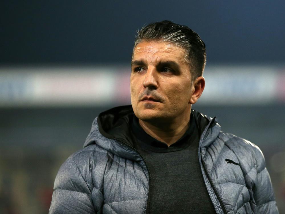 Kenan Kocak und sein SV Sandhausen gewinnen überraschend