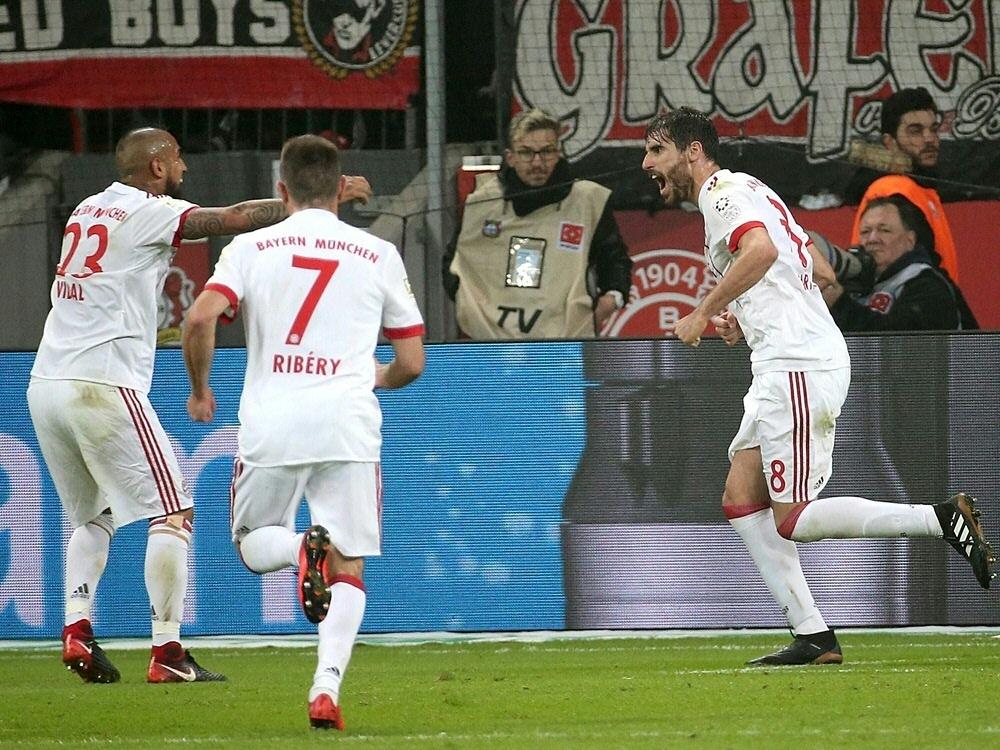 Martinez brachte Bayern in der 32. Minute in Führung