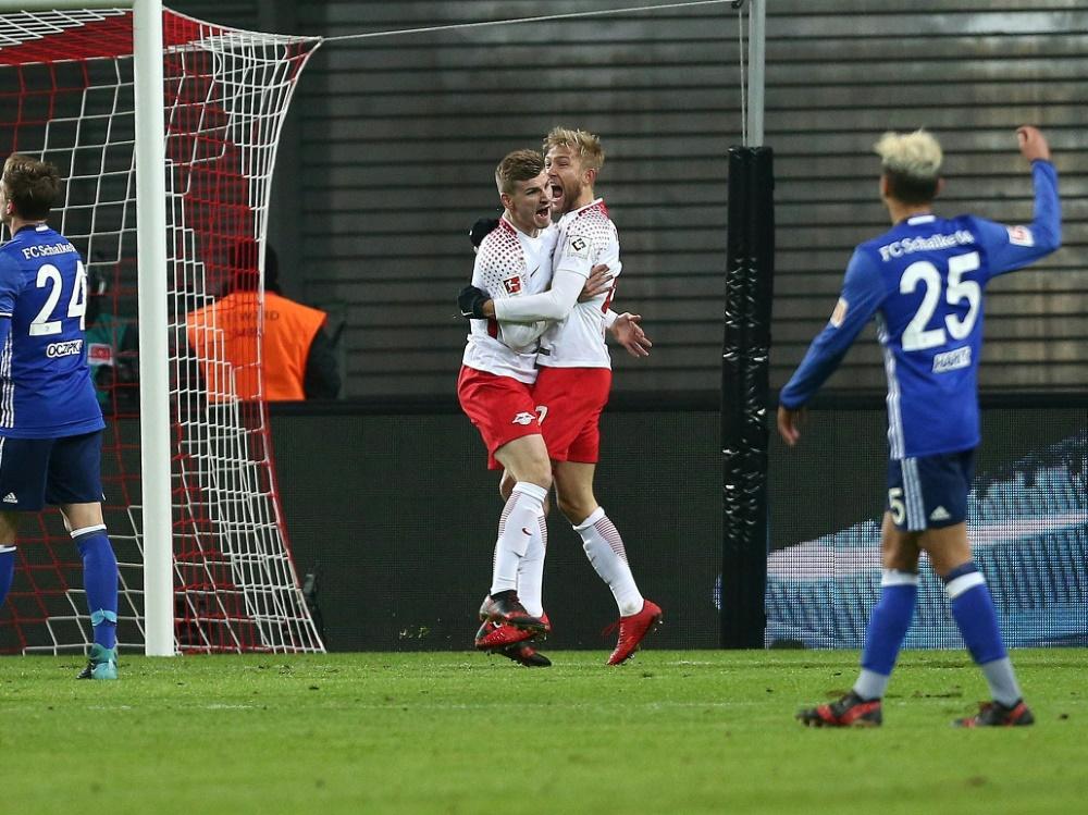 RB Leipzig zieht mit dem Sieg an Schalke vorbei