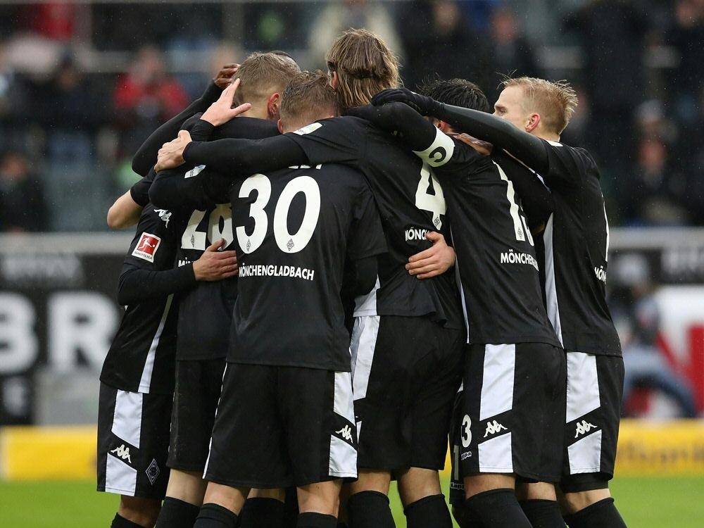 Gladbach feiert einen 2:0-Heimsieg gegen Augsburg