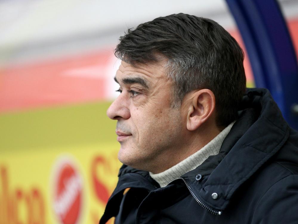 Damir Buric nimmt ein Unentschieden aus Bielefeld mit