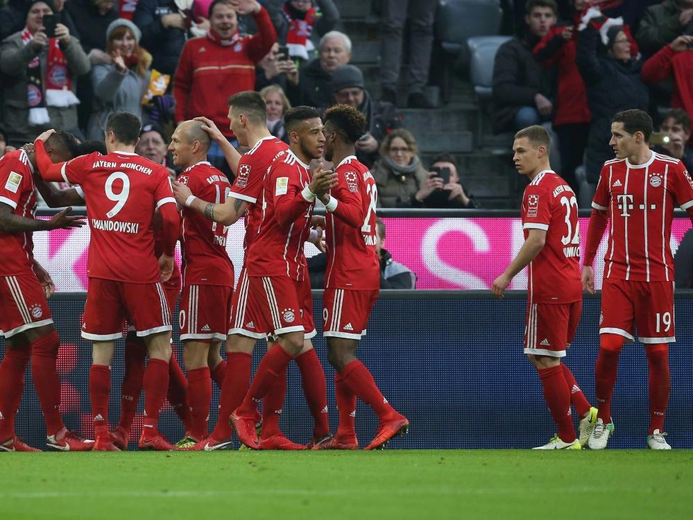 Die Bayern drehen ein 0:2 in ein 5:2