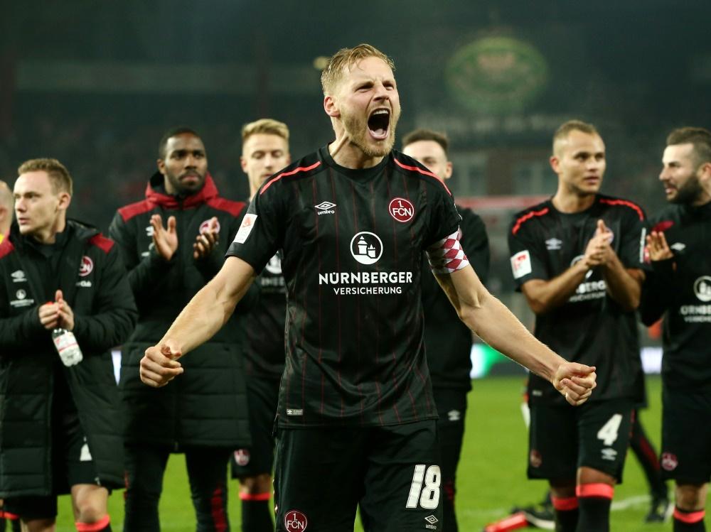Nürnberg feiert einen 4:1-Heimsieg gegen Aue