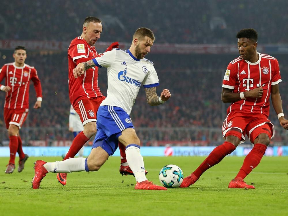 Bayern siegen mühsam mit 2:1 gegen Schalke