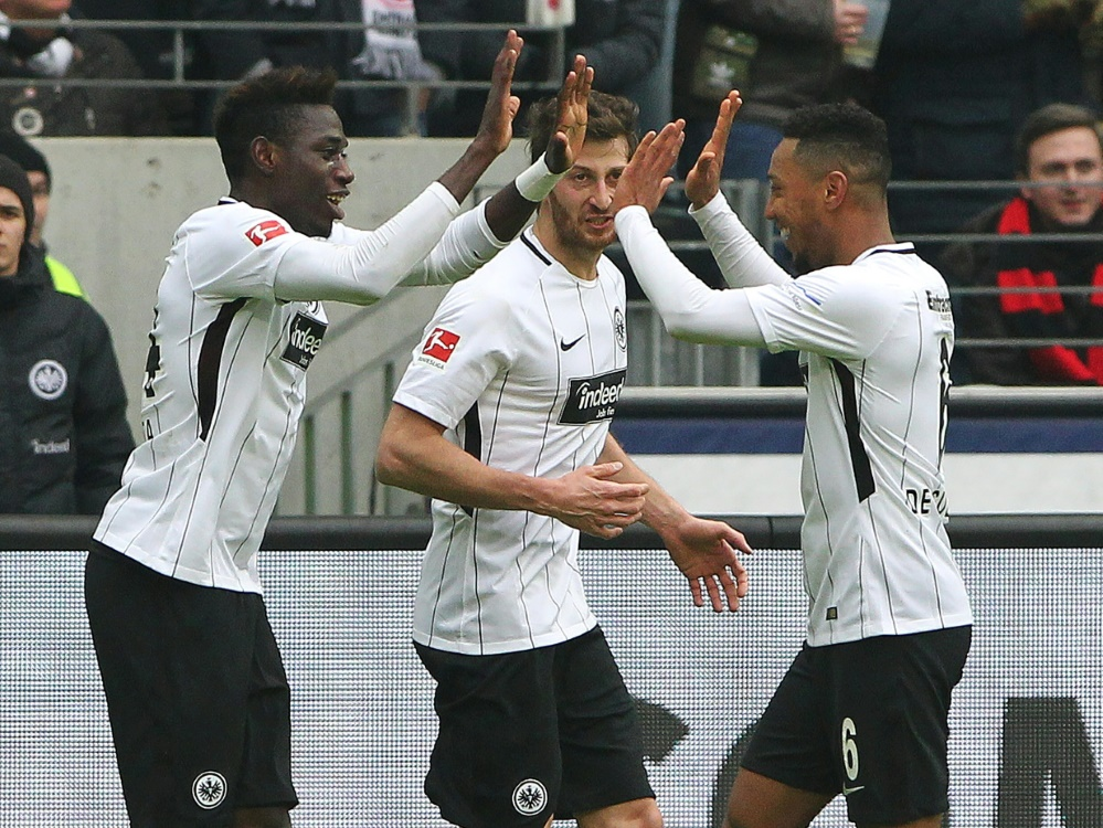 Frankfurt kommt dem Ziel Champions League immer näher