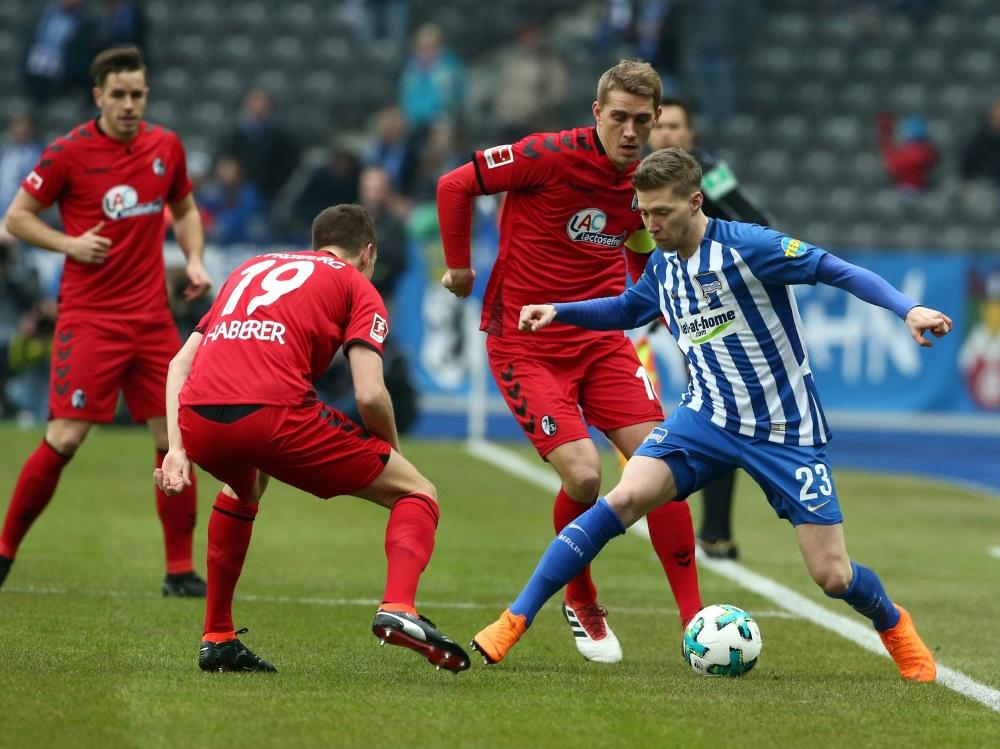 Keine Tore zwischen Hertha BSC und dem SC Freiburg