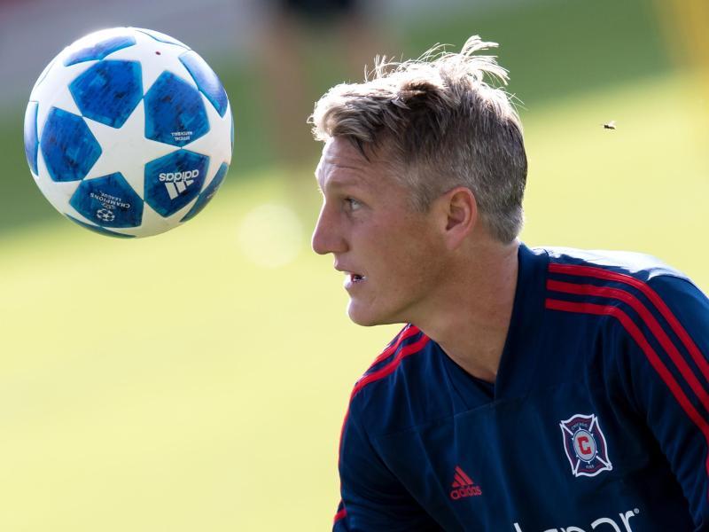 Bastian Schweinsteiger hat in der MLS mit Chicago Fire gegen New England Revolution nur ein Unentschieden erreicht. Foto:Sven Hoppe