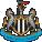 Wappen von Newcastle United