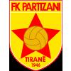 Wappen von KF Partizan Tirana