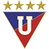 Wappen von Liga Dep Universitaria Quito