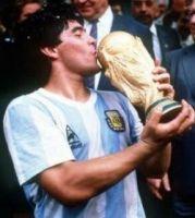 Hauptdarsteller der 86er WM: Diego Maradona