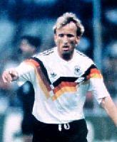 Erzielte bei der WM das wichtigste Tor seiner Karriere: Andreas Brehme