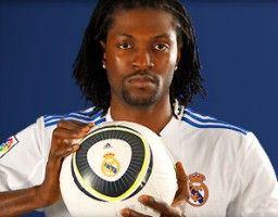 Kam nicht oft zu Vollzeiteinsätzen, machte jedoch drei Treffer von Madrids 8:1-Kantersieg: Emmanuel Adebayor