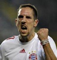 Nach der Pause ließ er, wie die restliche Mannschaft nach: Franck Ribery