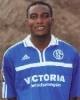 Beim spielentscheidenden Schalker Doppelschlag erfolgreich dabei: Victor Agali