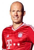 Überraschte als wendiger Mittelstürmer und traf gegen den BVB erneut entscheidend: Arjen Robben