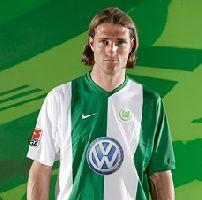 Wolfsburgs Aktivposten - auch vor dem 1:0: Diego Klimowicz