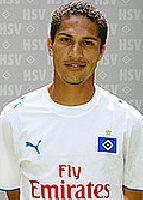Drei Treffer gegen den KSC: HSV-Stürmer Paolo Guerrero