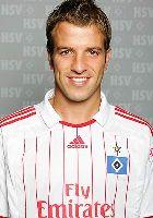 Stellte als Schütze des 1:0 Uwe Seelers Rekord ein: Rafael van der Vaart
