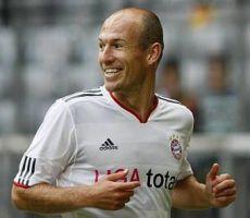 Traf zweimal vom Punkt: Arjen Robben