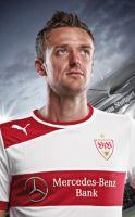 Seiner Kopfarbeit verdankte der VfB die Führung: Christian Gentner