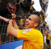 Matchwinner für Dynamo beim OFC: Dani Schahin (Foto: Imago)