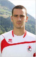 Markierte Baris 1:0 mit einem feinen Treffer aus der Drehung: Abwehrspieler Leonardo Bonucci